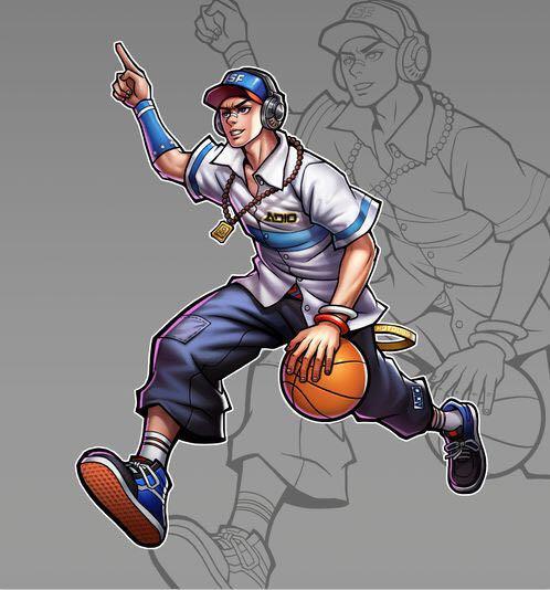 街头篮球手游人物角色2