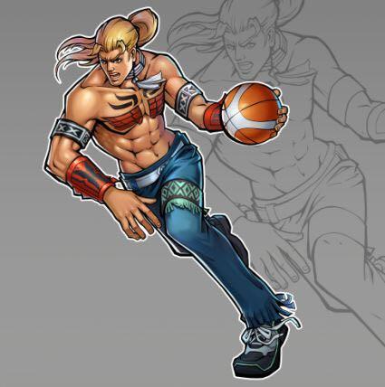 街头篮球手游人物角色1